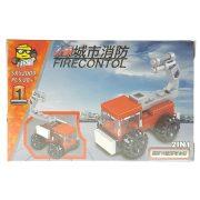 Tűzoltóautó Változatok Építőjáték