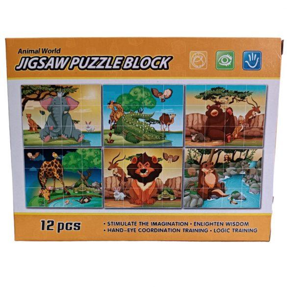 Vadállatos Kocka Puzzle