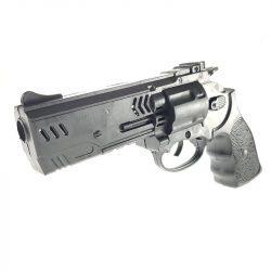 Fekete pisztoly hangot ad ki.